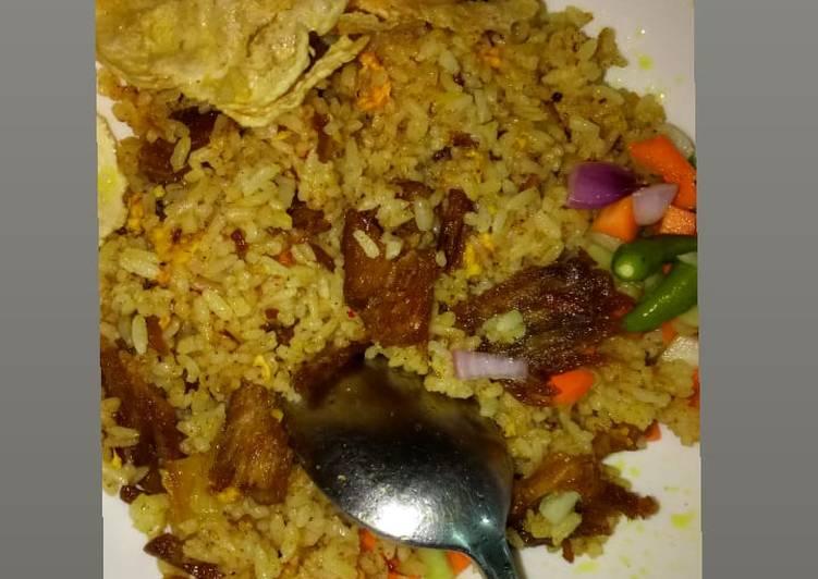 Beef briyani /nasi goreng daging briyani