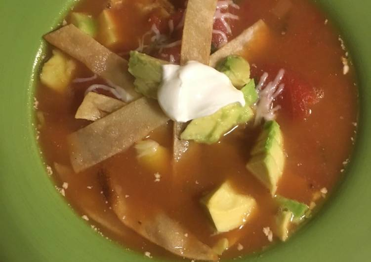 Chicken Tortilla Soup, Choosing Wholesome Fast Food