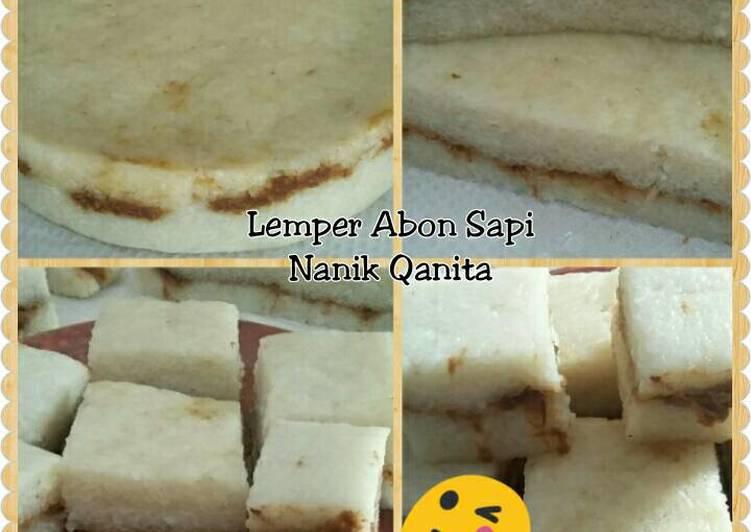 Lemper Abon Sapi