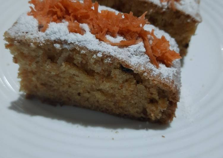 Cake wortel, sehat, mudah & pastinya enak😋