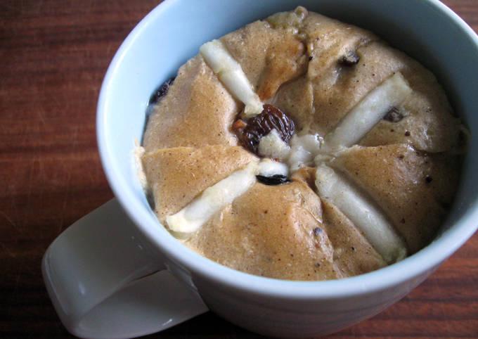 Hot Cross Bun & Butter Instant Pudding