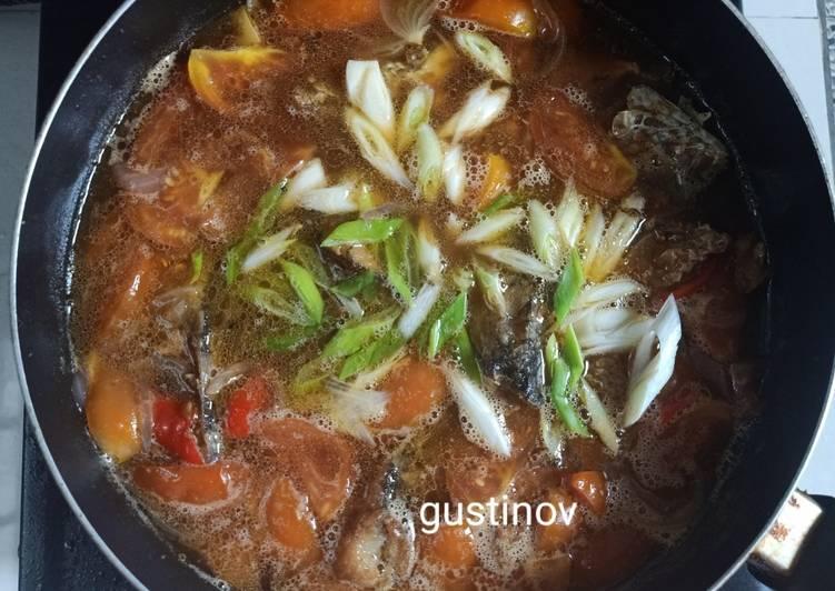 Ikan gabus (haruan) kuah tauco