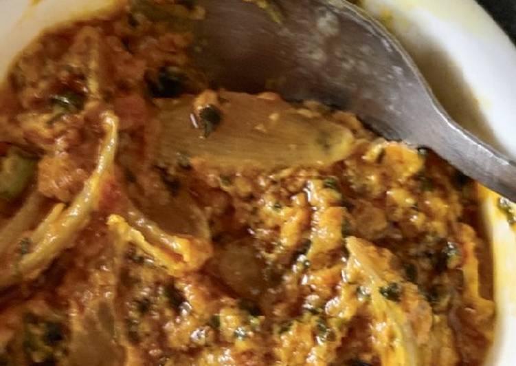 Onion malai sabji