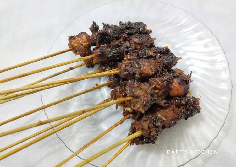 Sate Daging Sapi Bumbu Maranggi🐮