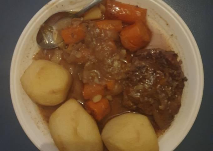 Stewed Beef Roast