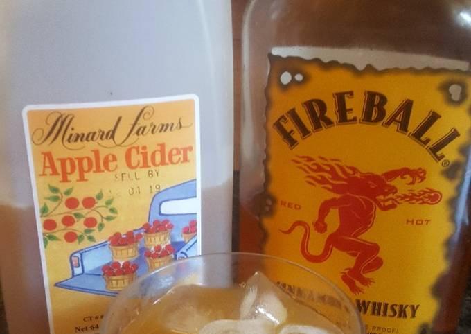 Apple Cider and Fireball