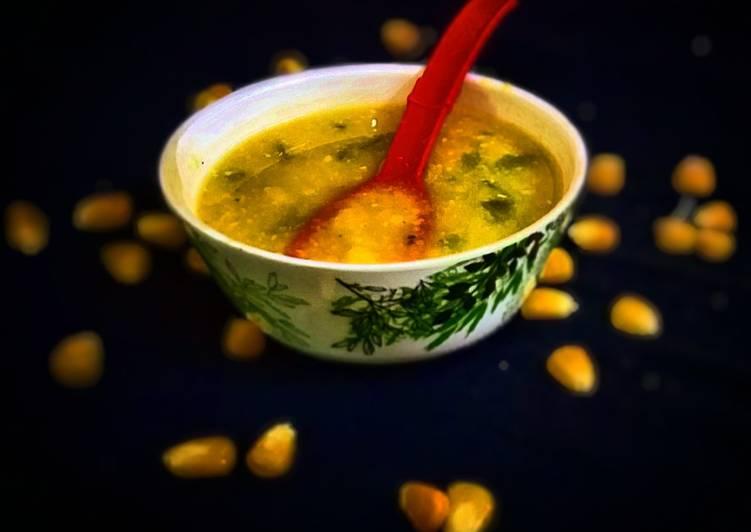 Recipe: Yummy Sweet Corn Soup