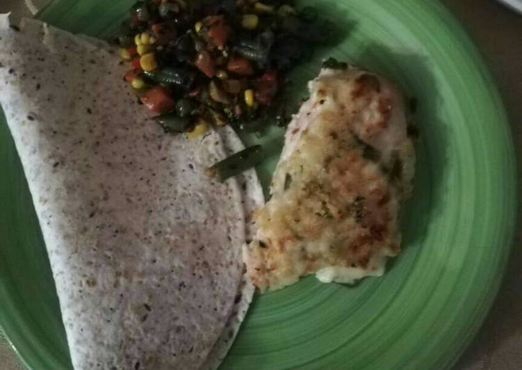 How to Prepare Comfortable Tasty spinach and chicken breast