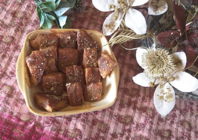 Recipe of Delicious Spanish Dessert Freid milk mouth melting recipe