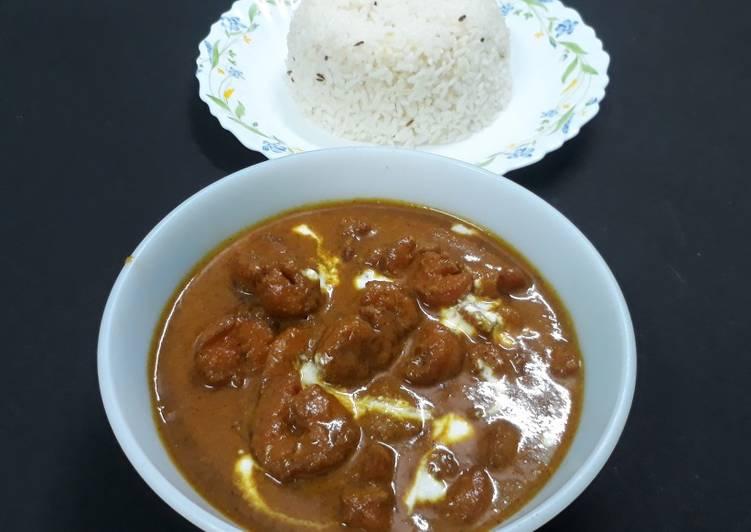 My Grandma Malai curry