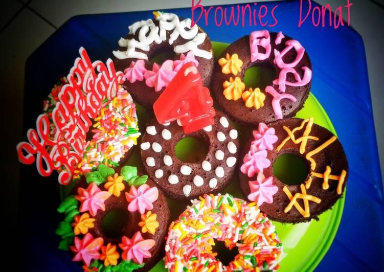 🍩BROWNAT (Brownies Donat)🍩