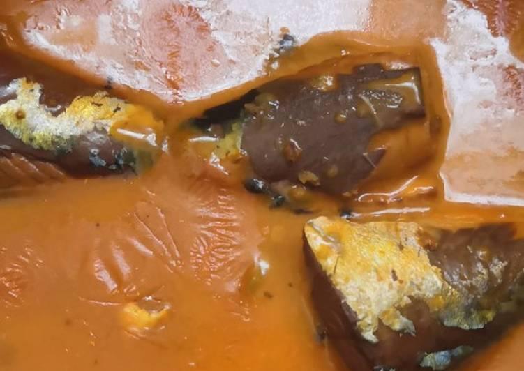 Sardin masak lemak