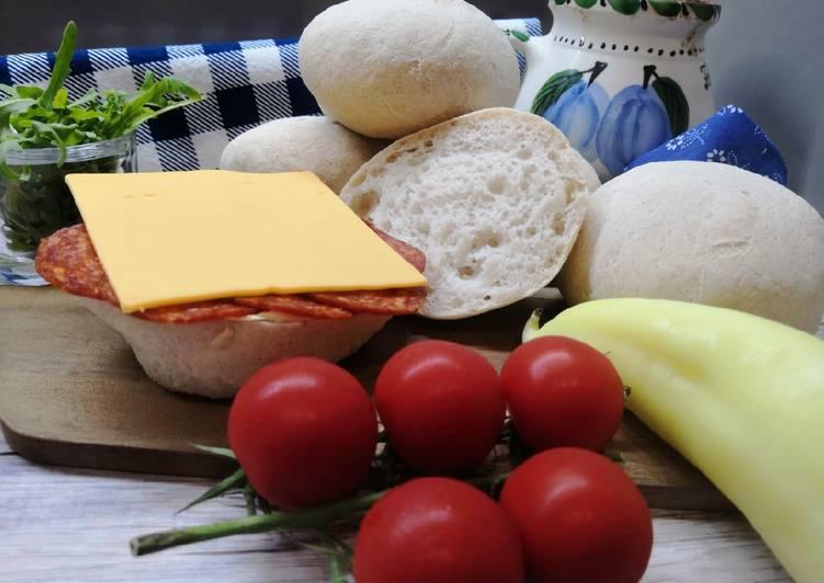 Gluténmentes fehér zsemle, lisztkeverék nélkül recept foto