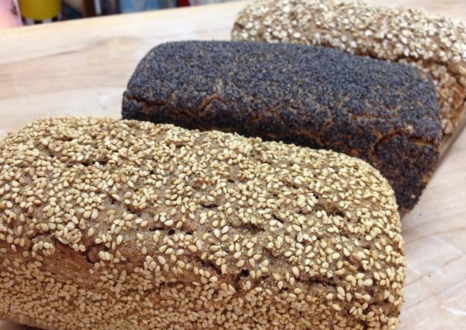 "90% Rye Loaf Bread ""Grindelbrot"" [Bakery Recipe]"