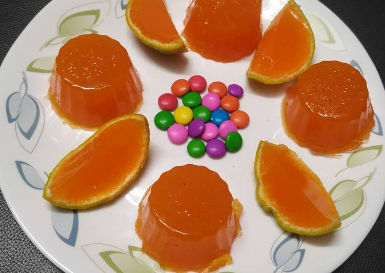 Recipe of Quick Orange jelly