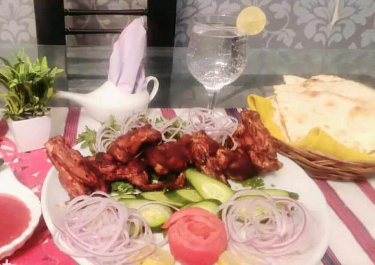 Easiest Way to Prepare Award-winning Chicken wings masala🍗 #fastfood
