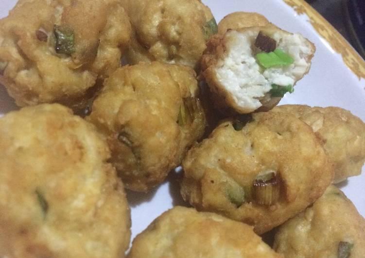 Pergedel Ikan mix Tahu