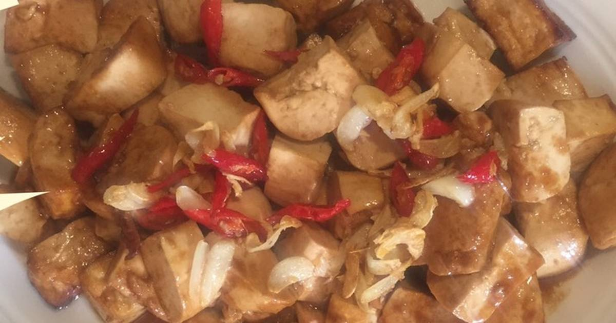 90 Resep Tahu Air Enak Dan Sederhana Ala Rumahan Cookpad