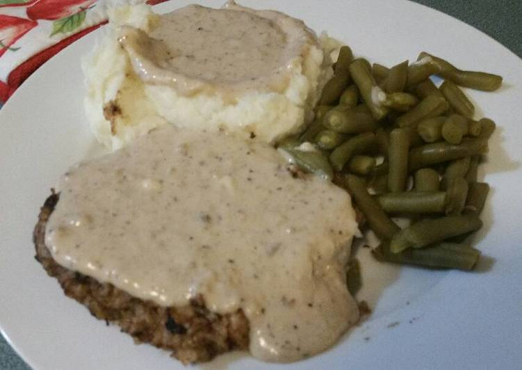 Recipe of Perfect Chicken Fried Steak