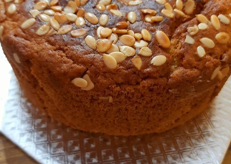 Lemon loaf dry cake