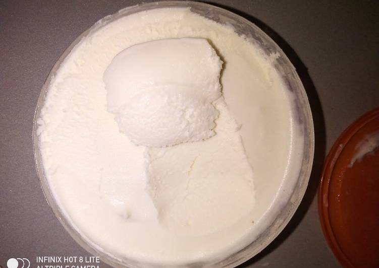 Step-by-Step Guide to Make Speedy Homemade vanilla Ice cream