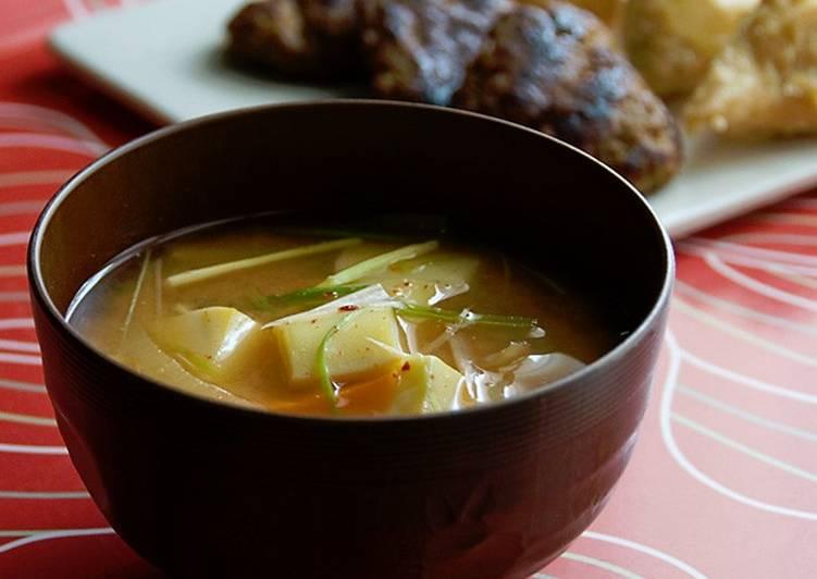 Resep Doenjang Jjigae Sup Fermentasi Kacang Kedelai Oleh Rian Handayani Cookpad