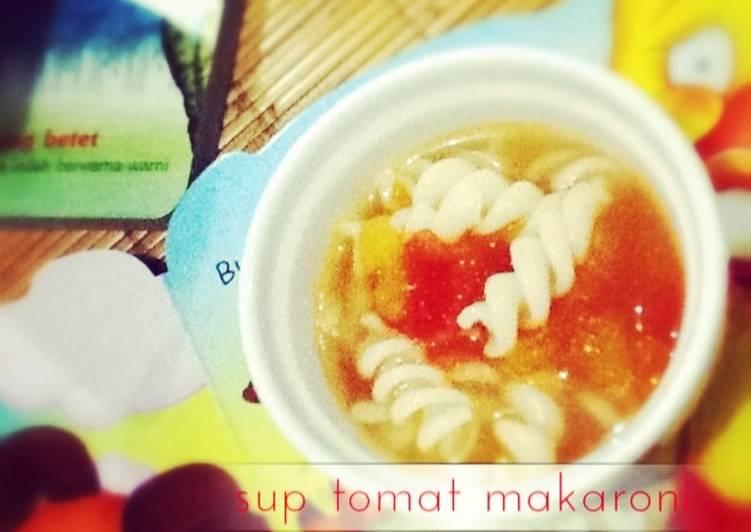 sup tomat makaroni *edisi bocah*