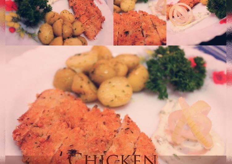 Resep Chicken Schnitzel Indo Taste Oleh Anna Ayuningtyas Cookpad