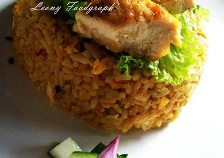 Resep Spicy Fried Rice And Chicken Oleh Leony Agmanda Cookpad