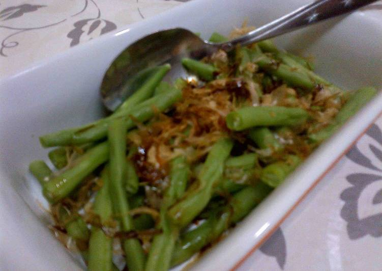 Salad Buncis Katsuo Bushi