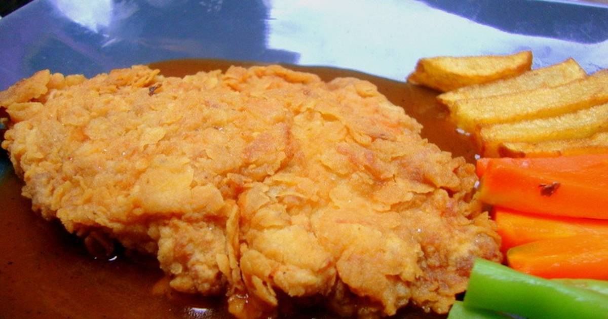 Crispy Chicken Steak Ala Warung Steak