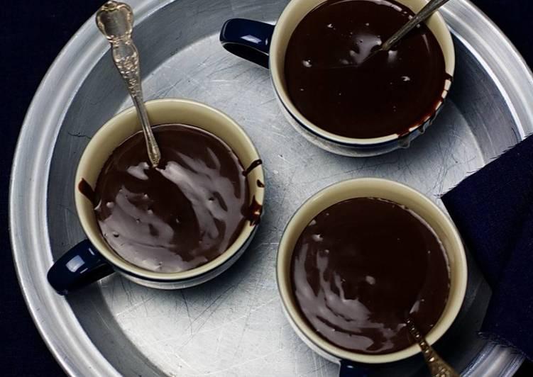 Simple Warm Chocolate Pudding