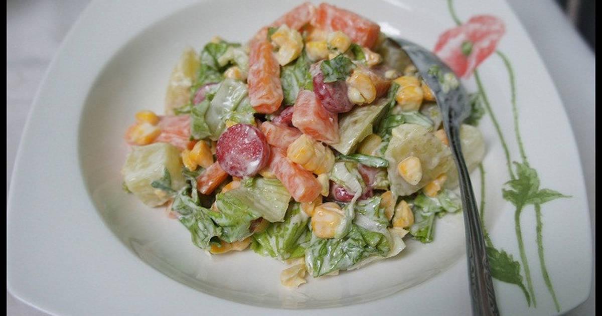 Salad Sosis Sayur