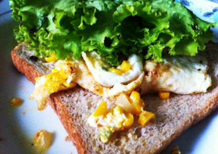 Resep Low Carb Egg Sandwich Bikin Ngiler