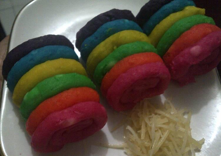 Resep Getuk Lindri Rainbow Oleh Emma Rosa Cookpad