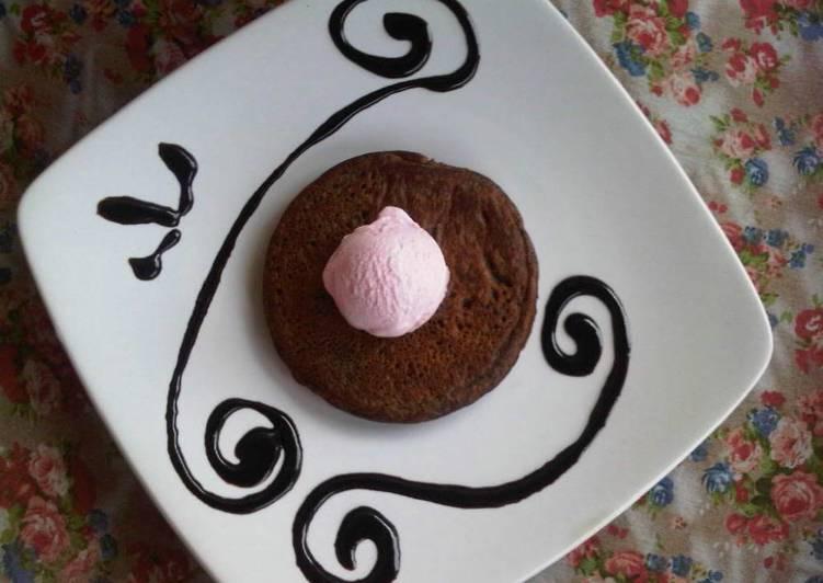 Resep Pancake Triple choco Paling Gampang