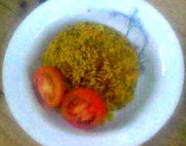 Nasi Coklat Briyani (Vegetarian) Rice Cooker