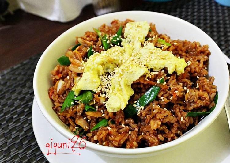 Resep Kimchi Bokkeumbap Nasi Goreng Kimchi Oleh Trans
