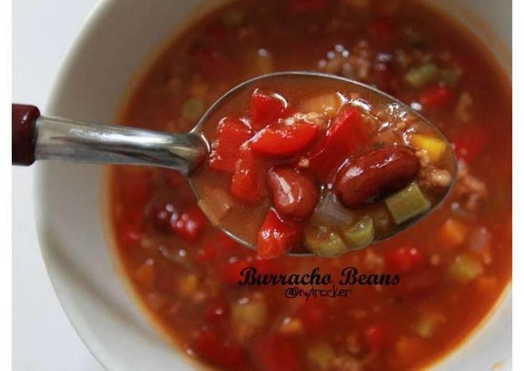 Resep Burracho Beans Aka Sup Kacang Merah Oleh Deasy Maslianita Burhan Cookpad