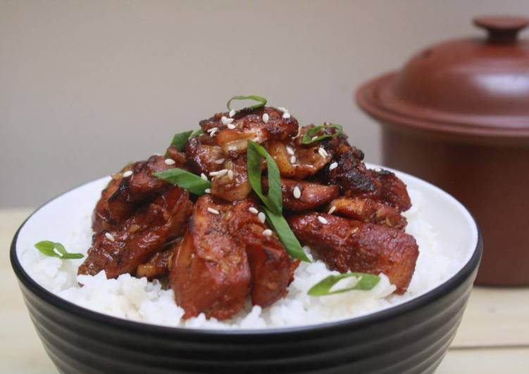 Resep Dak Bulgogi Korean Bbq Chicken Oleh Nani Yusuf Cookpad