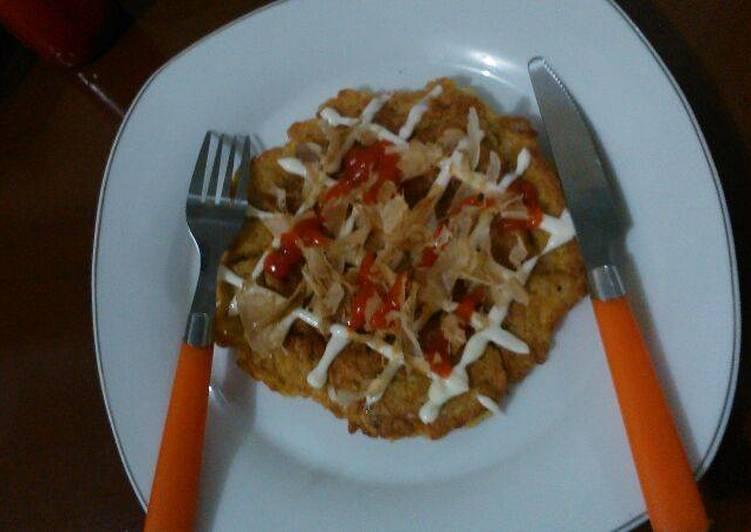 9 Resep: okonomiyaki praktis Anti Ribet!