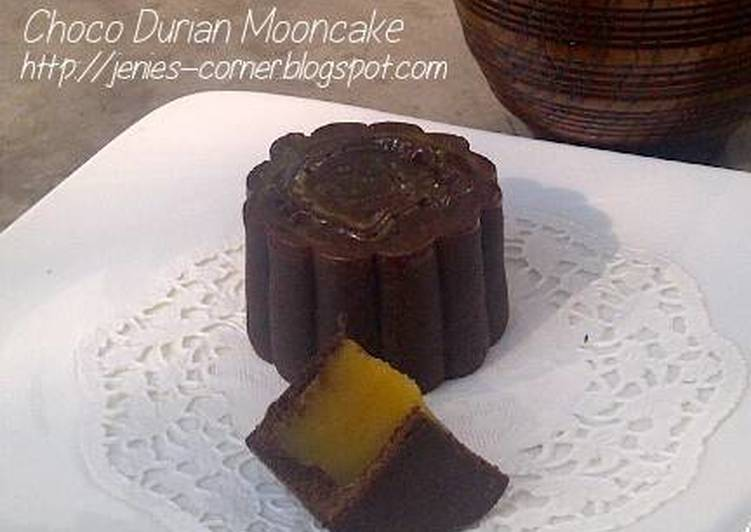 Choco Durian Mooncake