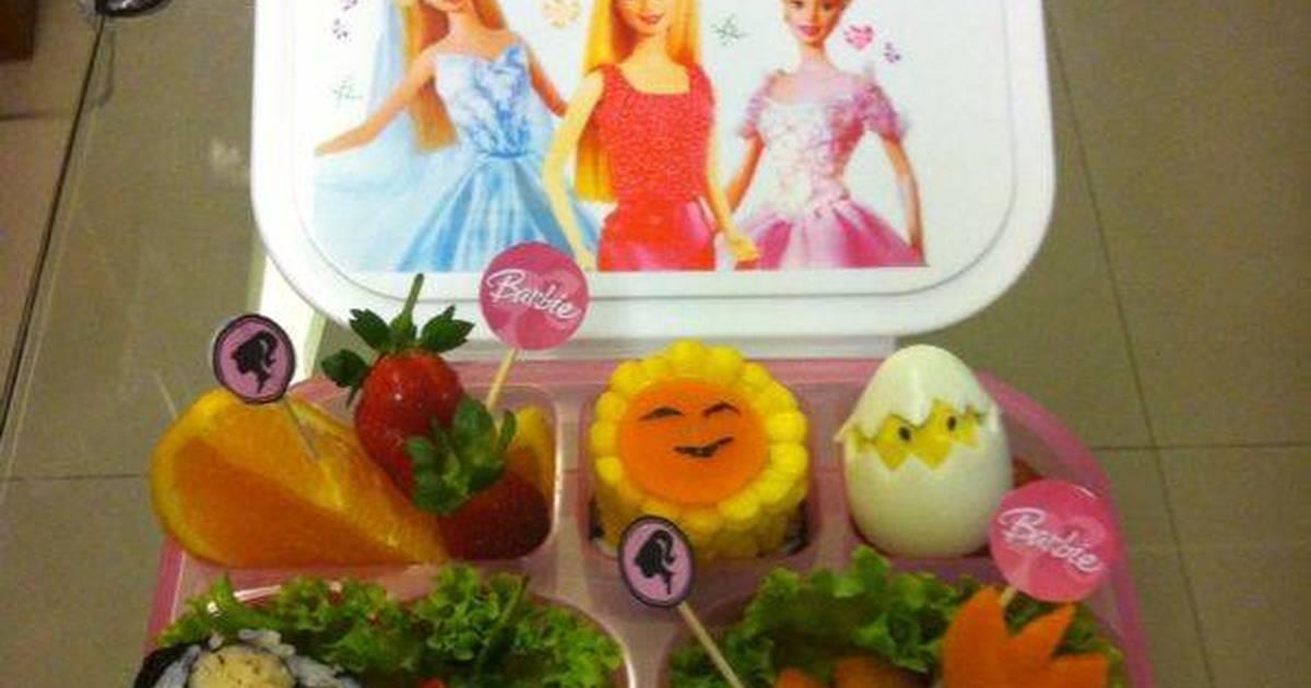 Resep Princess Barbie Bento Oleh Erni Affandi Cookpad