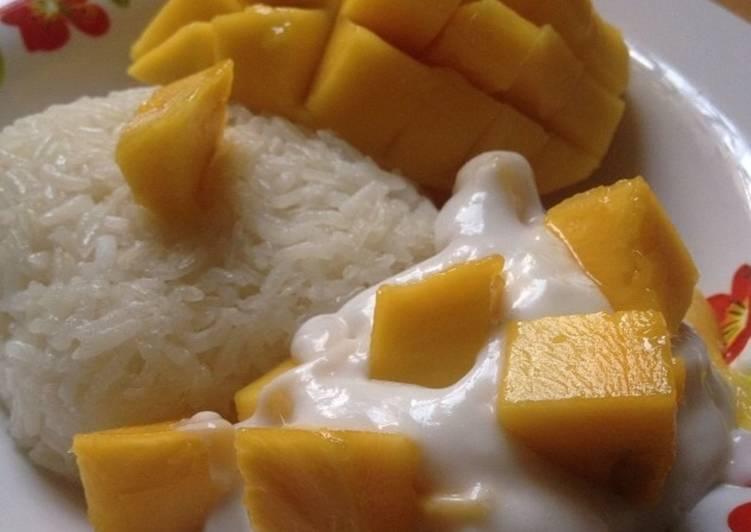 Resep Pulut Mangga Ala Thai Oleh Dinda Da Ana Cookpad