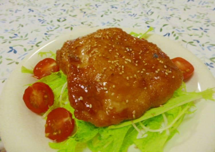 Ayam Teriyaki Original Praktis dan dijamin enak