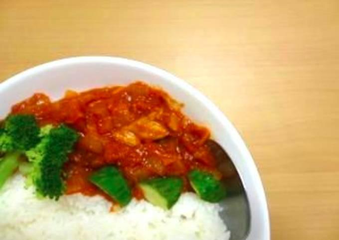 Resep Kare Tomat Ayam Oleh Akari Papa Cookpad