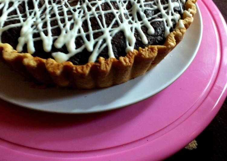 Resep Pie Brownies Paling Mudah