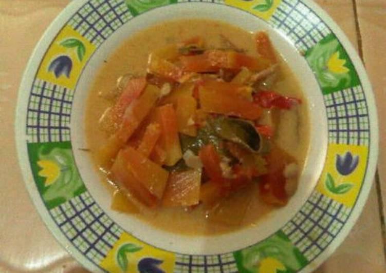 Resep sayur pepaya Yang Populer Pasti Nagih