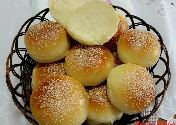 Resep Roti Burger. oleh Nikmatul Rosidah - Cookpad
