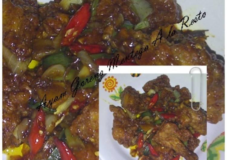 Ayam Goreng Mentega Rumahan A la Resto